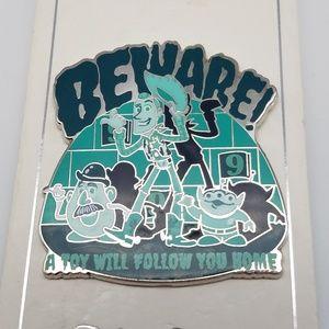 Disney Toy Story Beware! NWT Pin